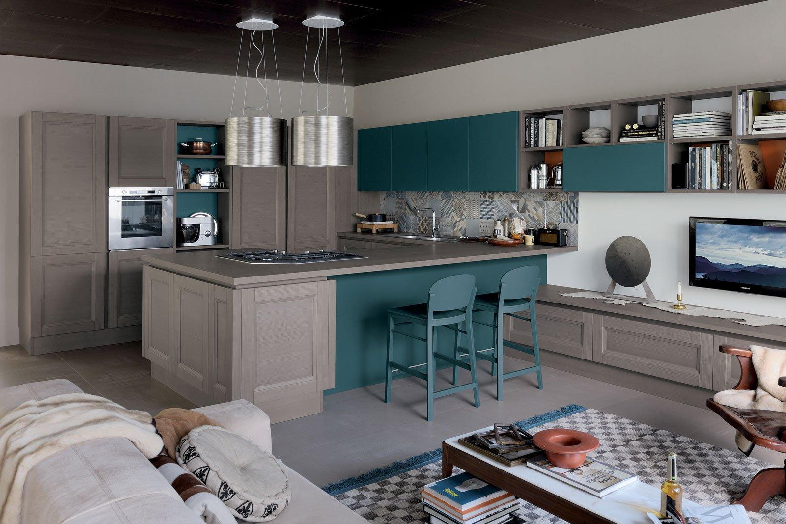 Cucine con cappa decorativa cose di casa for Cappa design