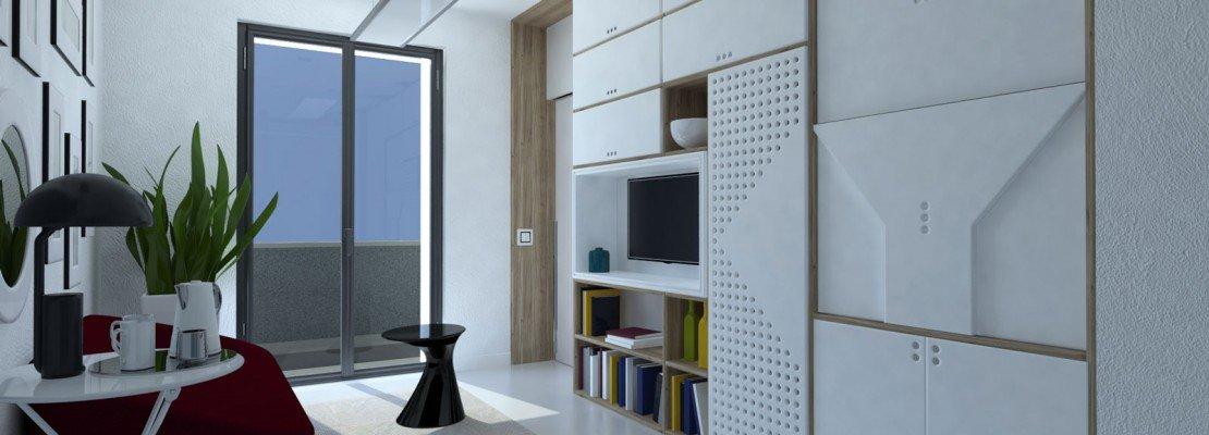 Da monolocale a bilocale: nell'open space, separare soggiorno e ...