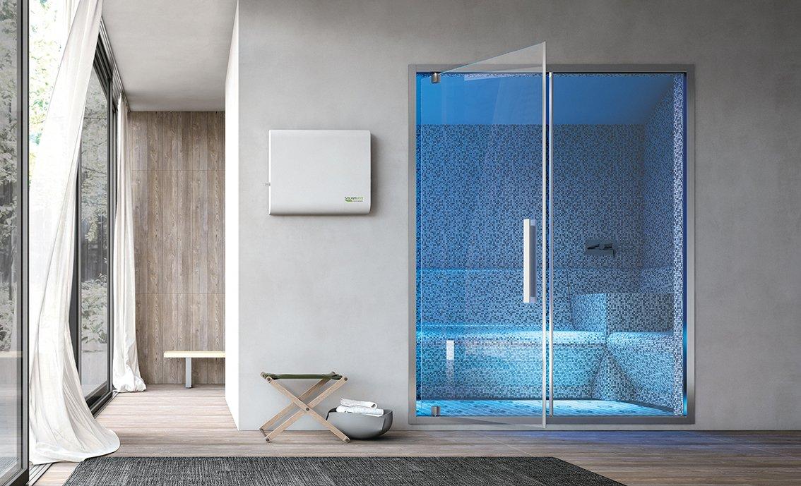 Non solo sauna e bagno turco il benessere secondo hafro - Doccia con bagno turco ...