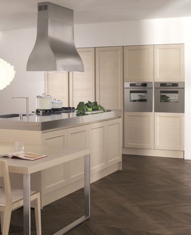 Cucine con cappa decorativa cose di casa - Cappa cucina bianca ...