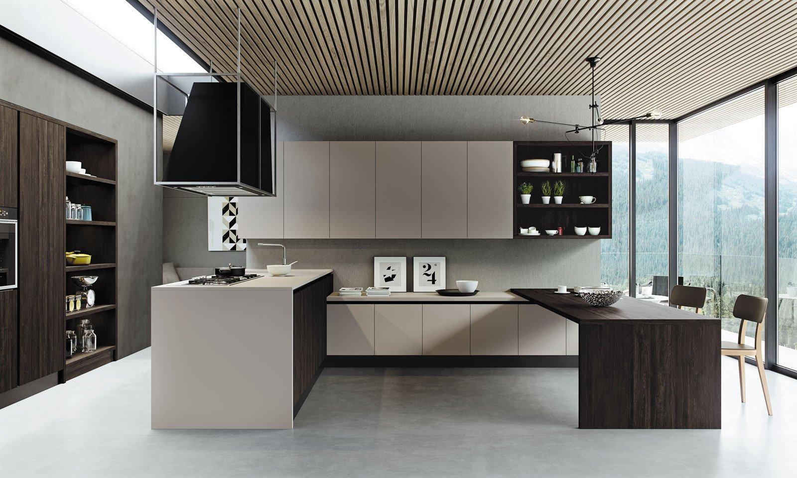 Cucine con cappa decorativa cose di casa - Arredo tre cucine ...