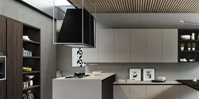 Cucine con cappa decorativa cose di casa - Cappa filtrante cucina ...