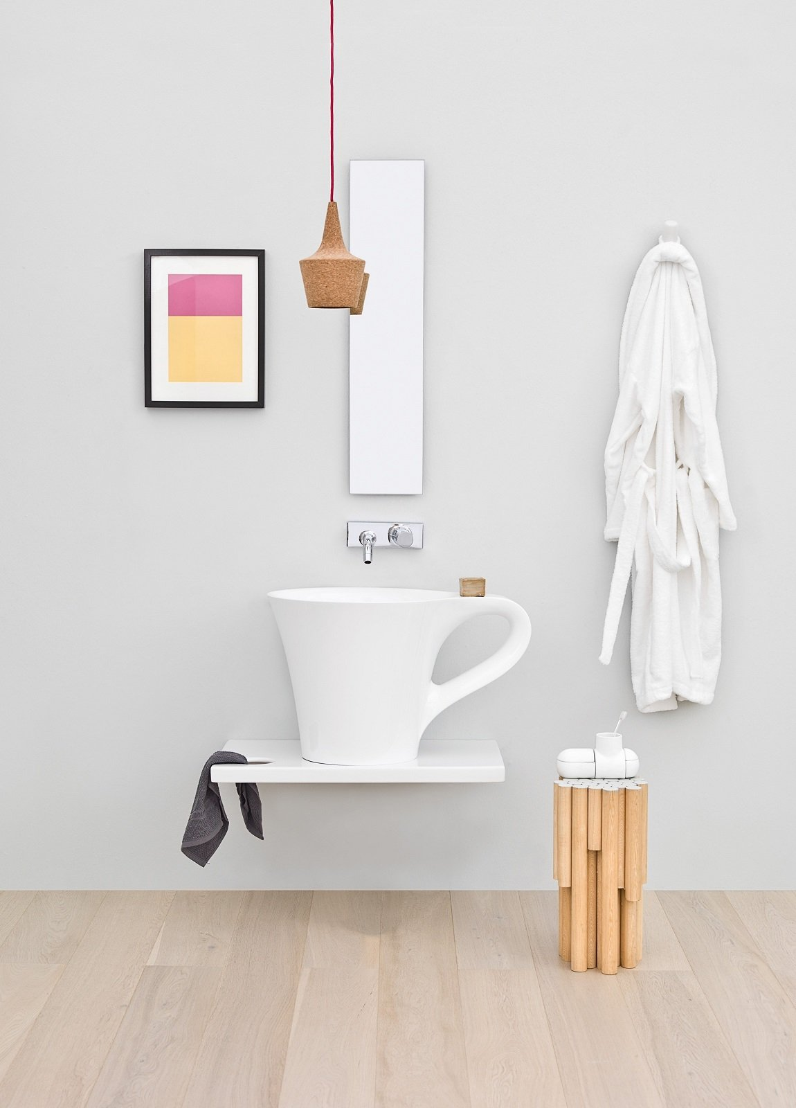 Mensole e piani d 39 appoggio per il lavabo cose di casa for Piani di idee di casa aggiunta