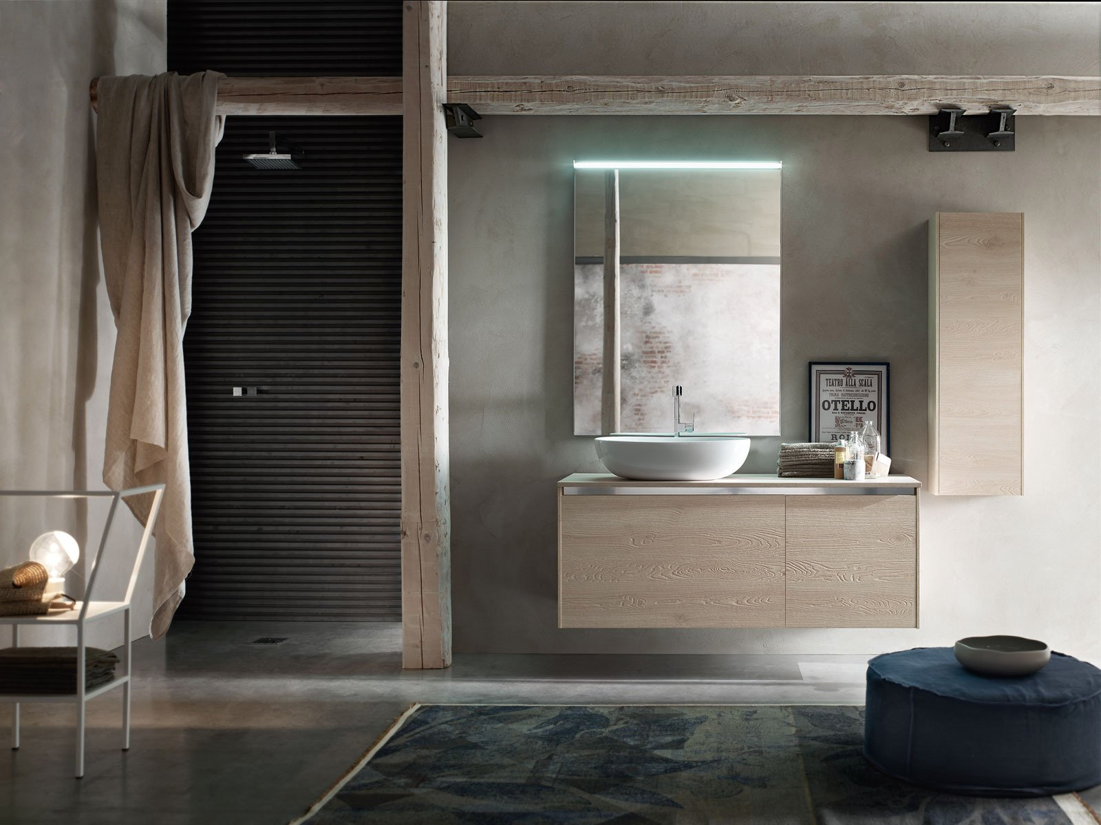 Design resistenza per l 39 arredo bagno di arcom cose di casa for Arcom bagno