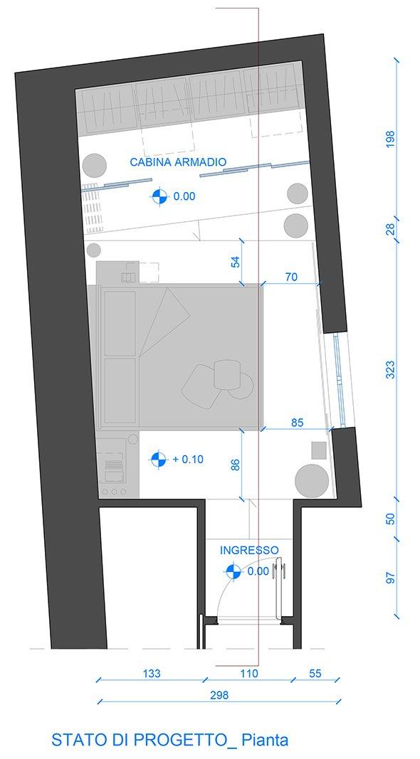 Camera irregolare, lunga e stretta: come la arredo?   cose di casa