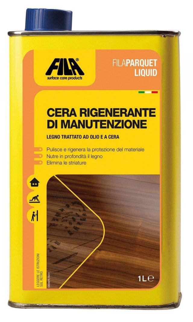Cera rigenerante di manutenzione per finitura a olio e a cera di Fila. www.filasolutions.com
