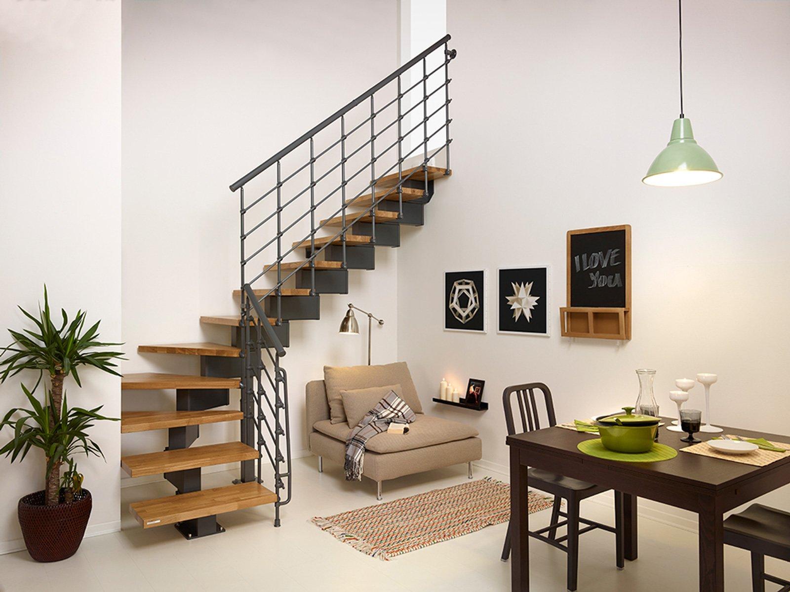 Scale a giorno prefabbricate cose di casa for Immagini scale interne