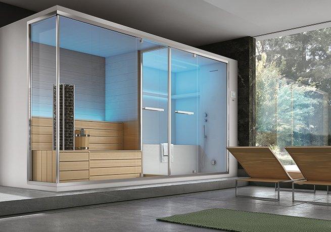 Non solo sauna e bagno turco il benessere secondo hafro geromin cose di casa - Sauna bagno turco ...