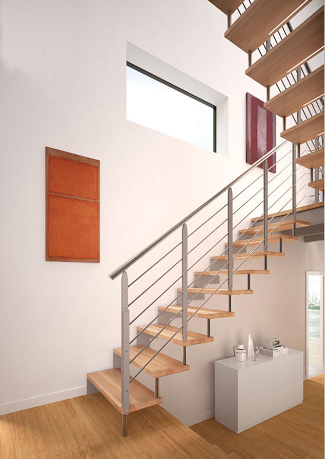 Scale a giorno prefabbricate cose di casa - Scale interne a vista ...