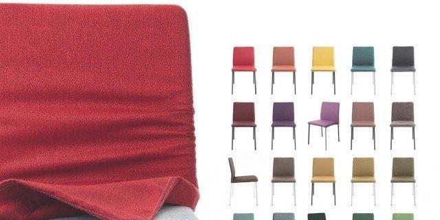 La sedia che cambia rivestimento e aspetto