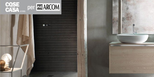 Design & resistenza per l'arredo bagno di Arcom
