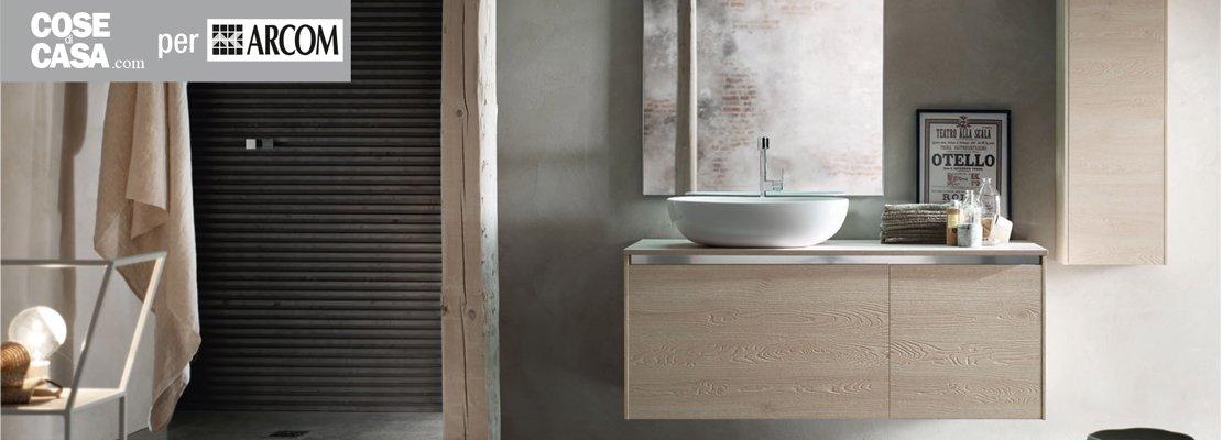 Design resistenza per l 39 arredo bagno di arcom cose di casa - Arcom mobili bagno ...