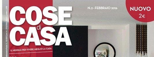 In edicola dal 23 gennaio Cose di Casa di febbraio