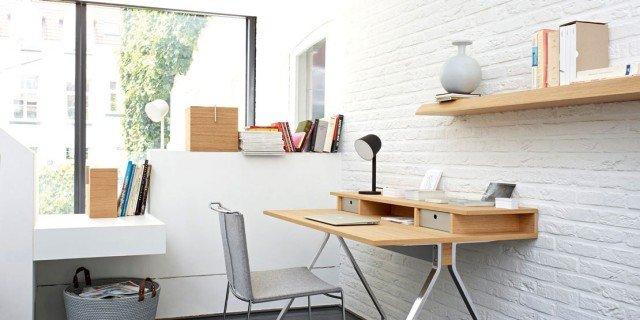 Salvaspazio lo scrittoio con due piani cose di casa for Piani di casa con design loft