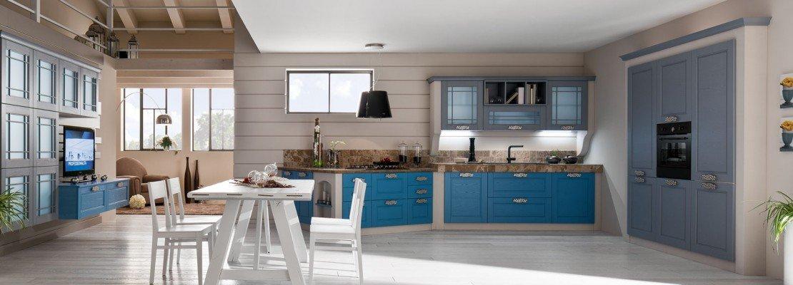 Cucine effetto muratura vera o finta cose di casa - Cucine in muratura prefabbricate ...