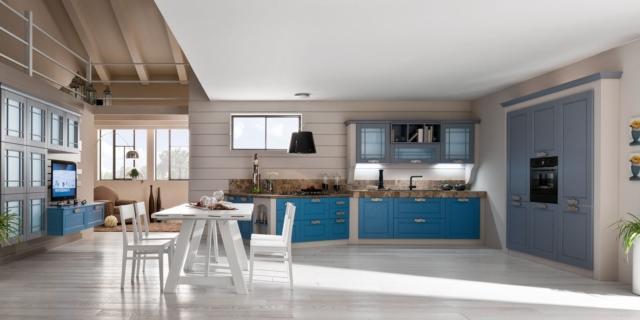 cucine classiche - arredamento -cose di casa - Cose Di Casa Cucine