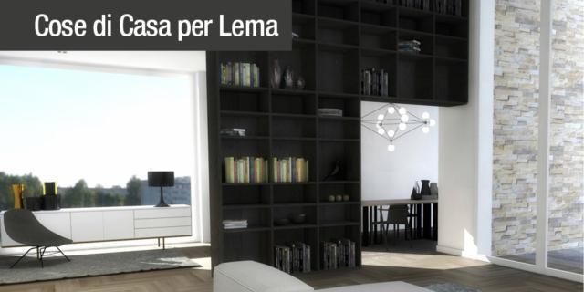 Progetto soggiorno: soluzioni Lema perfette per spazi \