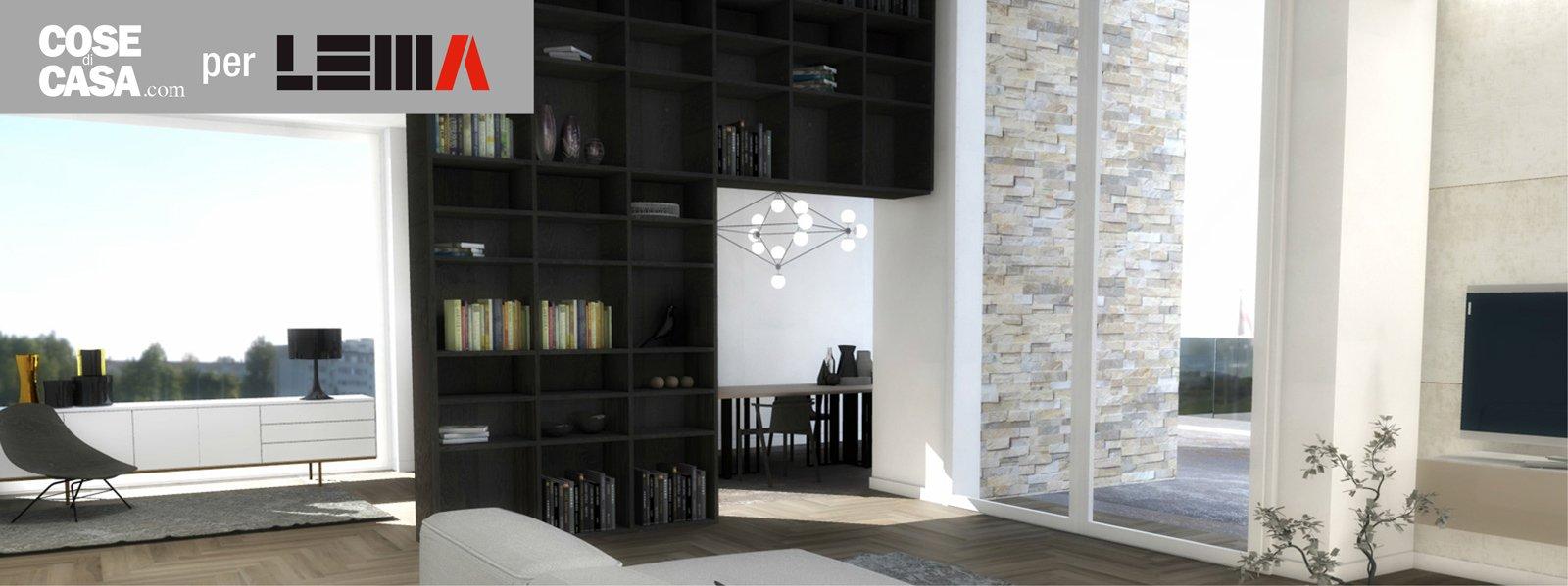 Progetto soggiorno soluzioni lema perfette per spazi for Mobili lema soggiorno