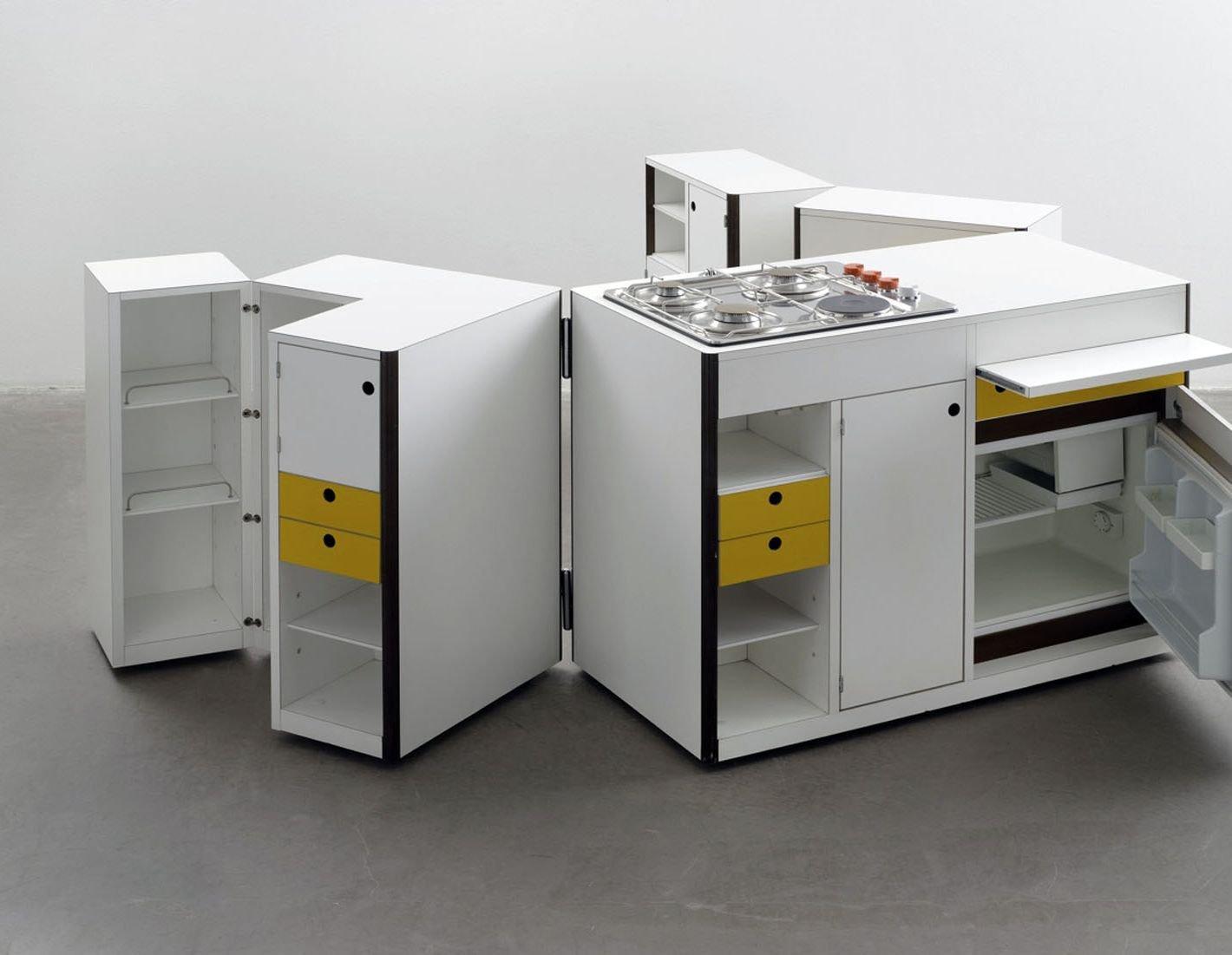 Spazio Vivo (Design Virgilio Forchiassin) Di Snaidero: Cucina Del 1968  #746530 1420 1101 Semplice Design Della Cucina
