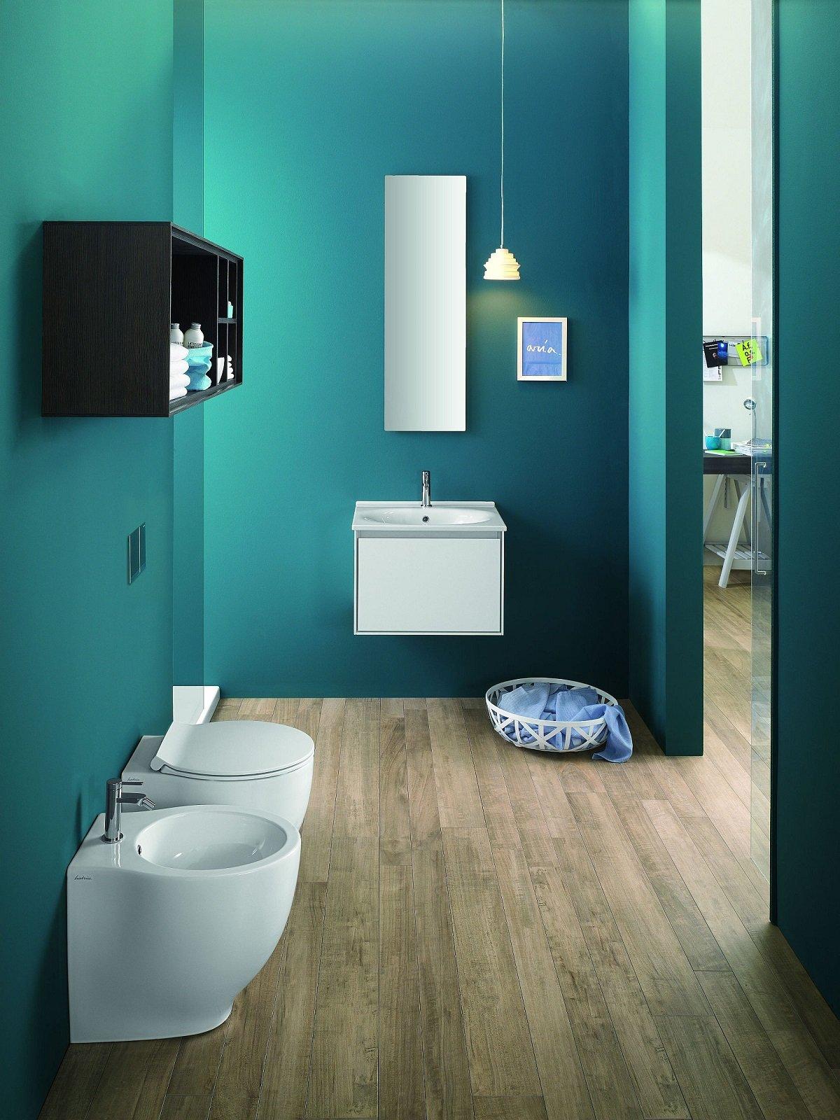 Ristrutturare il bagno sostituzione dei sanitari pi facile con alcuni modelli speciali - Misure scarichi bagno ...