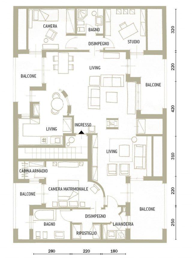 Un sottotetto con personalit eclettica cose di casa for 2 piani garage baia