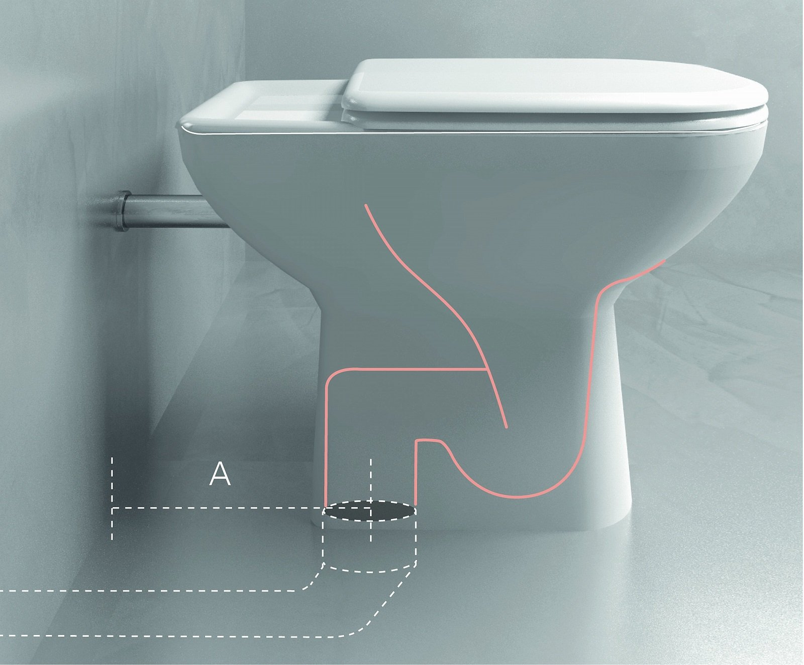 Bagno In Camera Senza Scarico : Ristrutturare il bagno sostituzione dei sanitari più facile con
