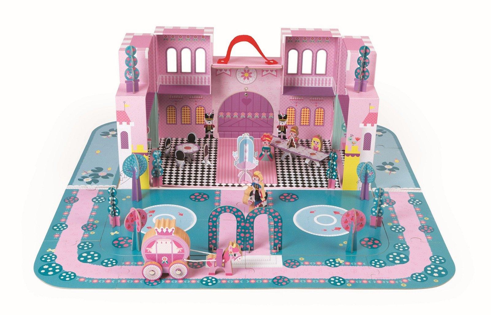 Arredare la casa delle bambole cose di casa for Disegni di casa chateau francese
