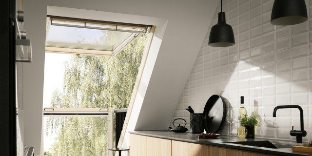 Organizzare al meglio lo spazio cucina nel sottotetto