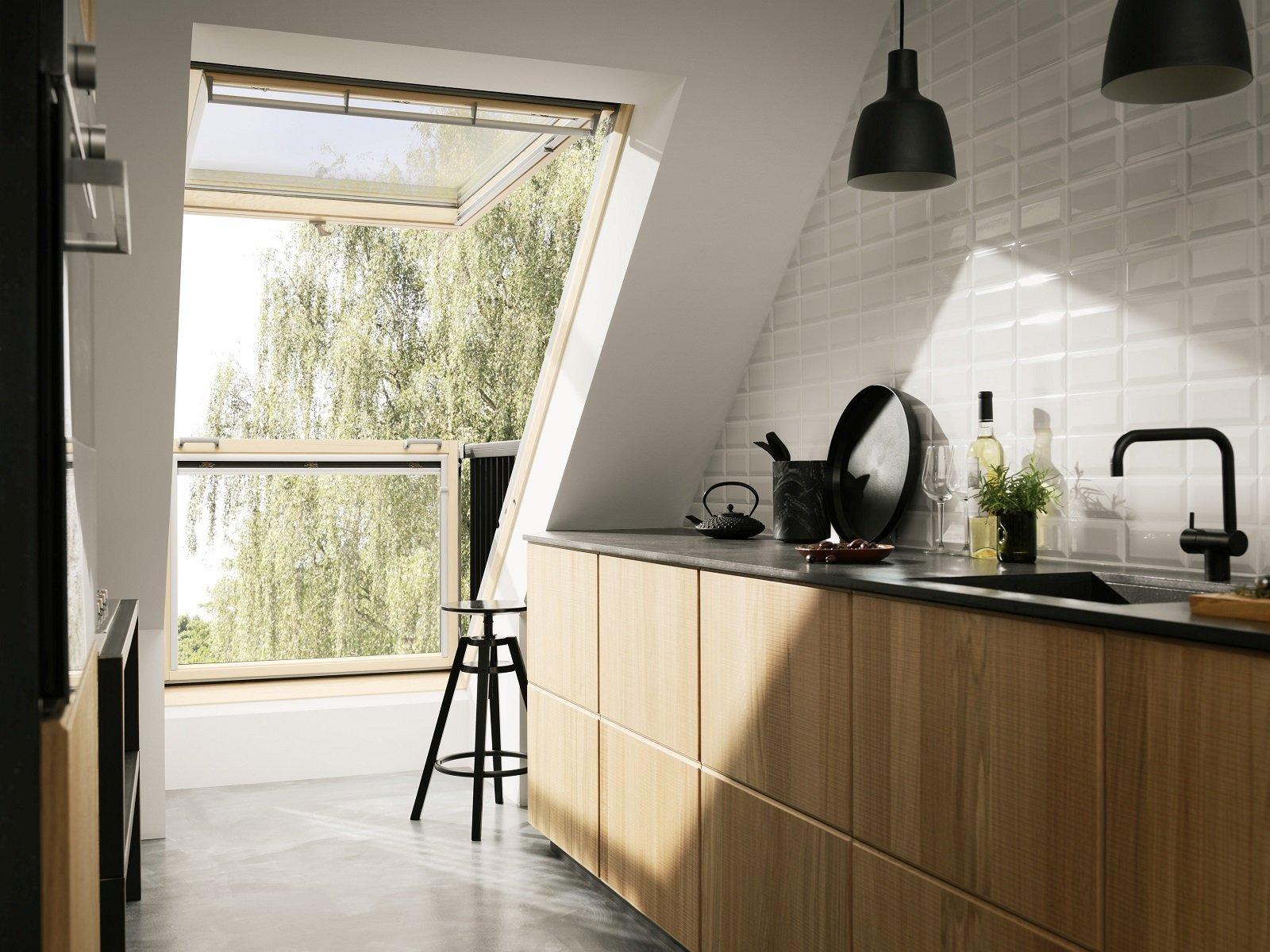 Organizzare al meglio lo spazio cucina nel sottotetto - Cose ...