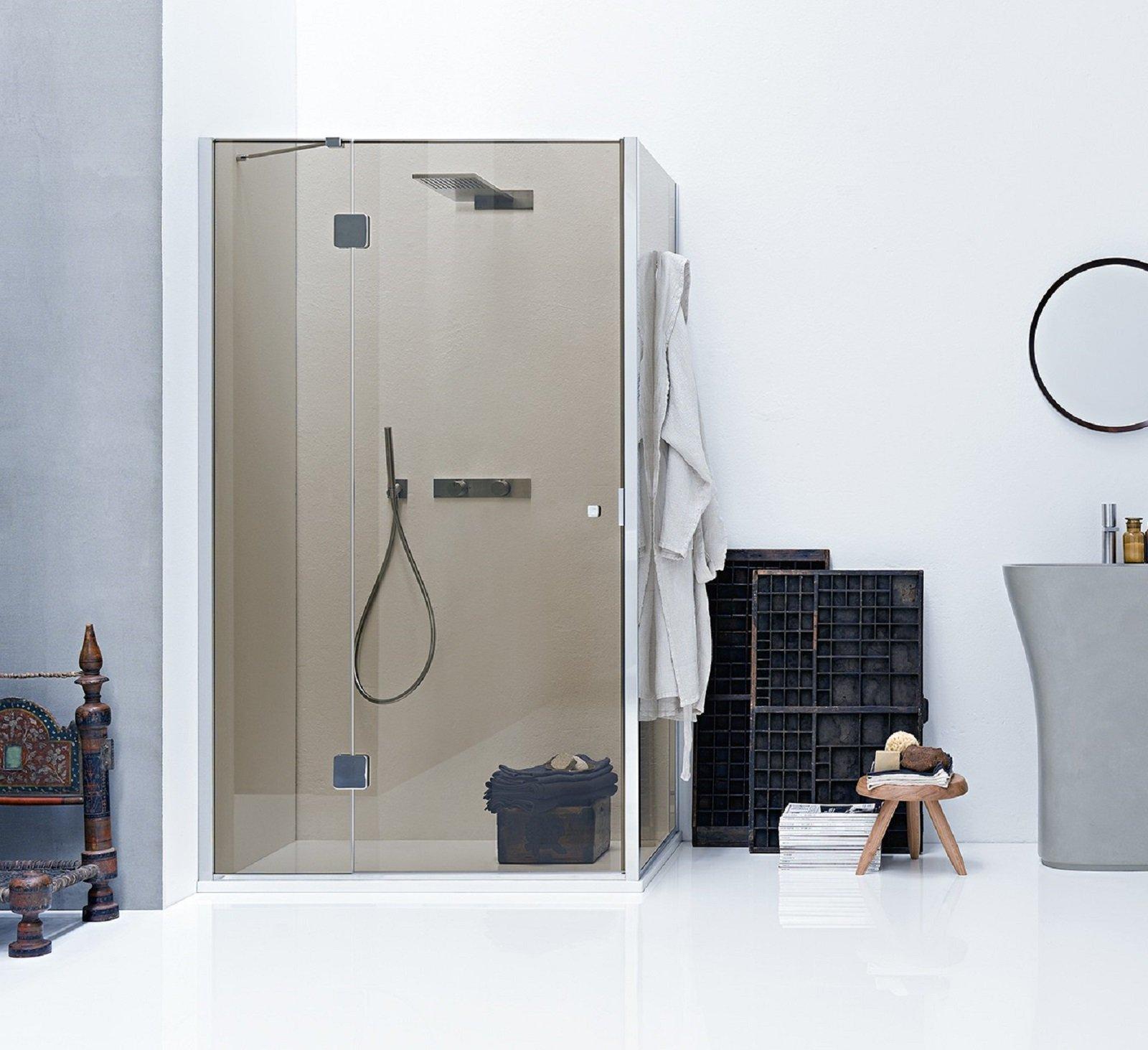 Box doccia rettangolari: eleganza minimale per il bagno - Cose di Casa