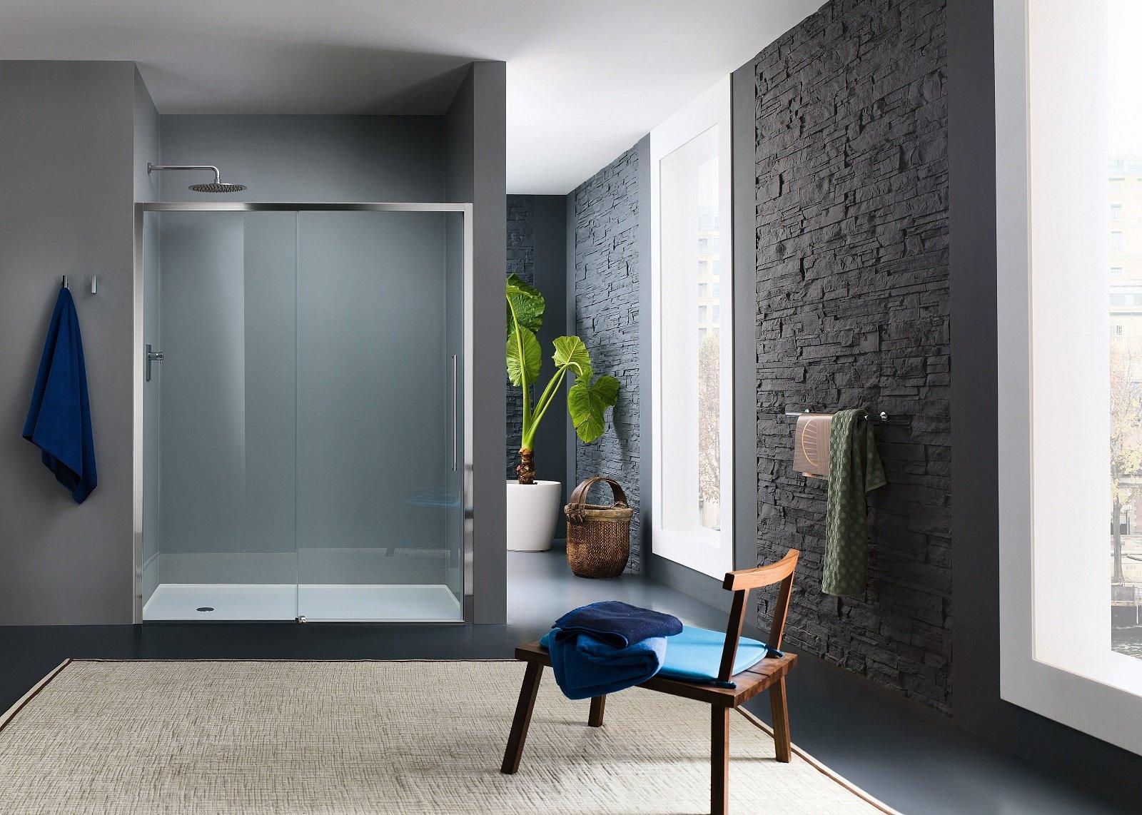 Box doccia rettangolari eleganza minimale per il bagno for Piccoli piani di casa cabina