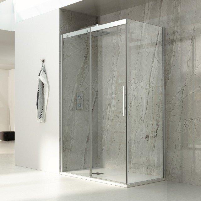 Box doccia rettangolari eleganza minimale per il bagno - Ikea bagno doccia ...