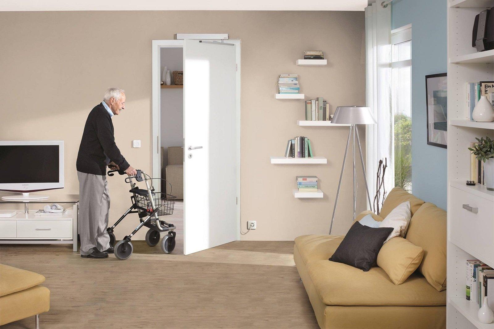Porte con apertura e chiusura automatica cose di casa - Chiudere la porta grazie ...