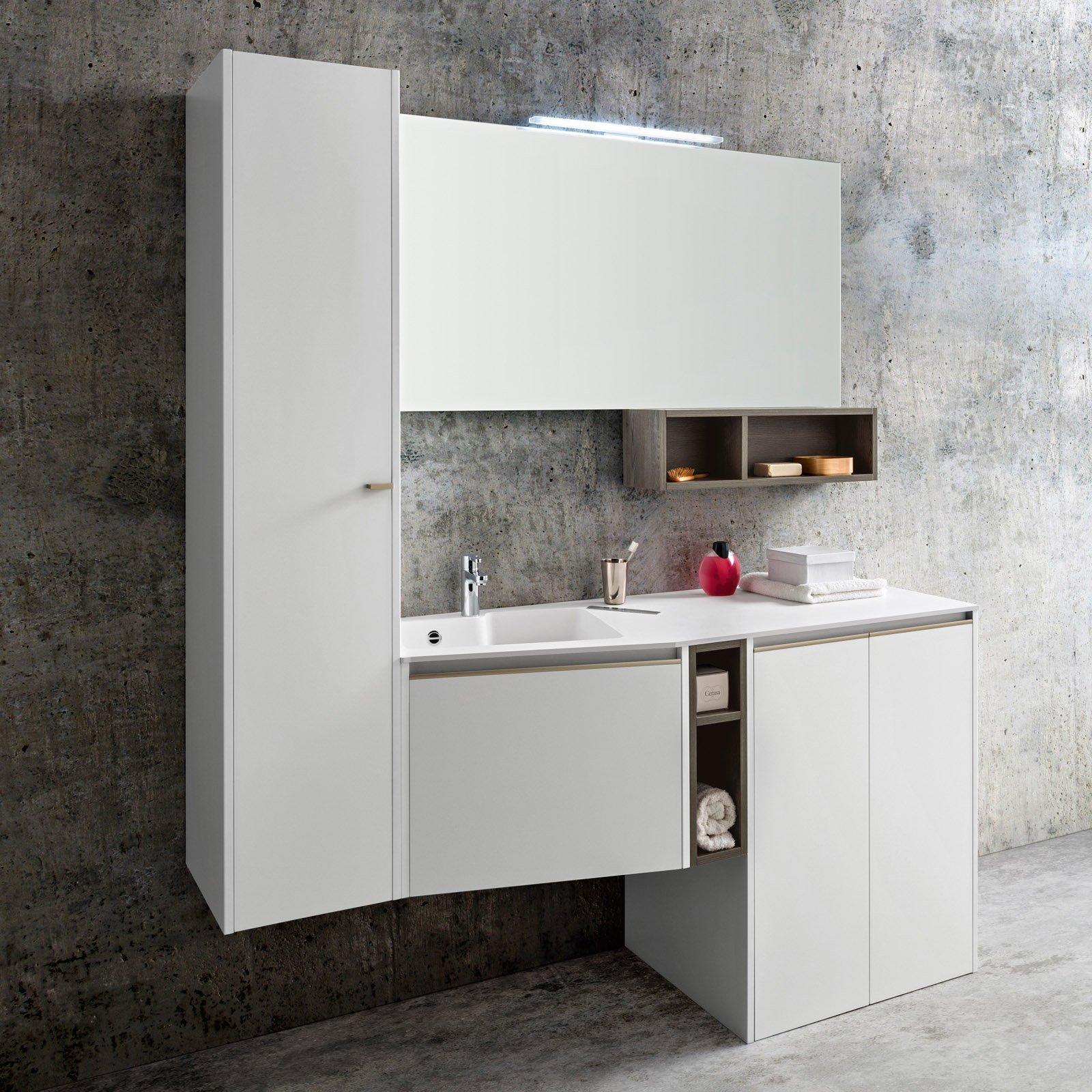 Mobili per il bagno libere composizioni per liberi pensatori cose di casa - Colonna bagno mercatone uno ...