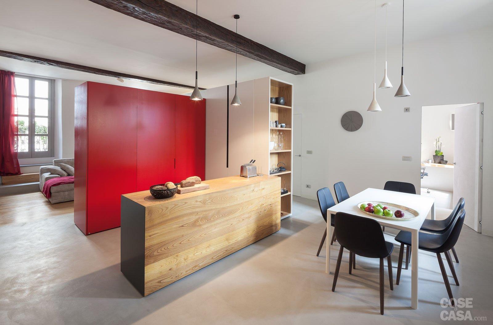 Idee Per Dividere Una Casa 140 mq: volumi geometrici per dividere gli spazi - cose di casa