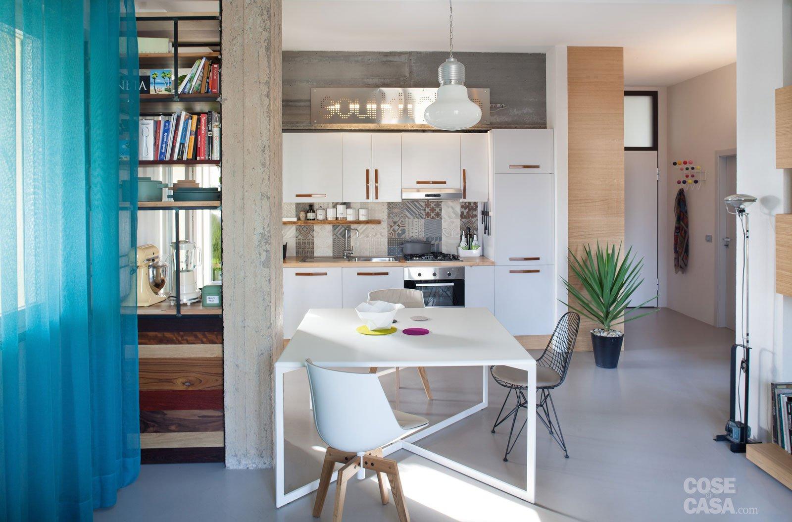 Finiture creative per la casa di 70 mq ben sfruttati cose di casa - Progettare un soggiorno ...
