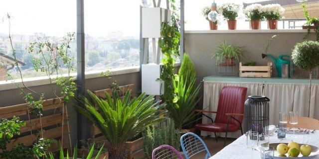 Uno spazio esterno, effetto veranda