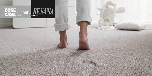Design contemporaneo per moquette e tappeti, naturali e anallergici