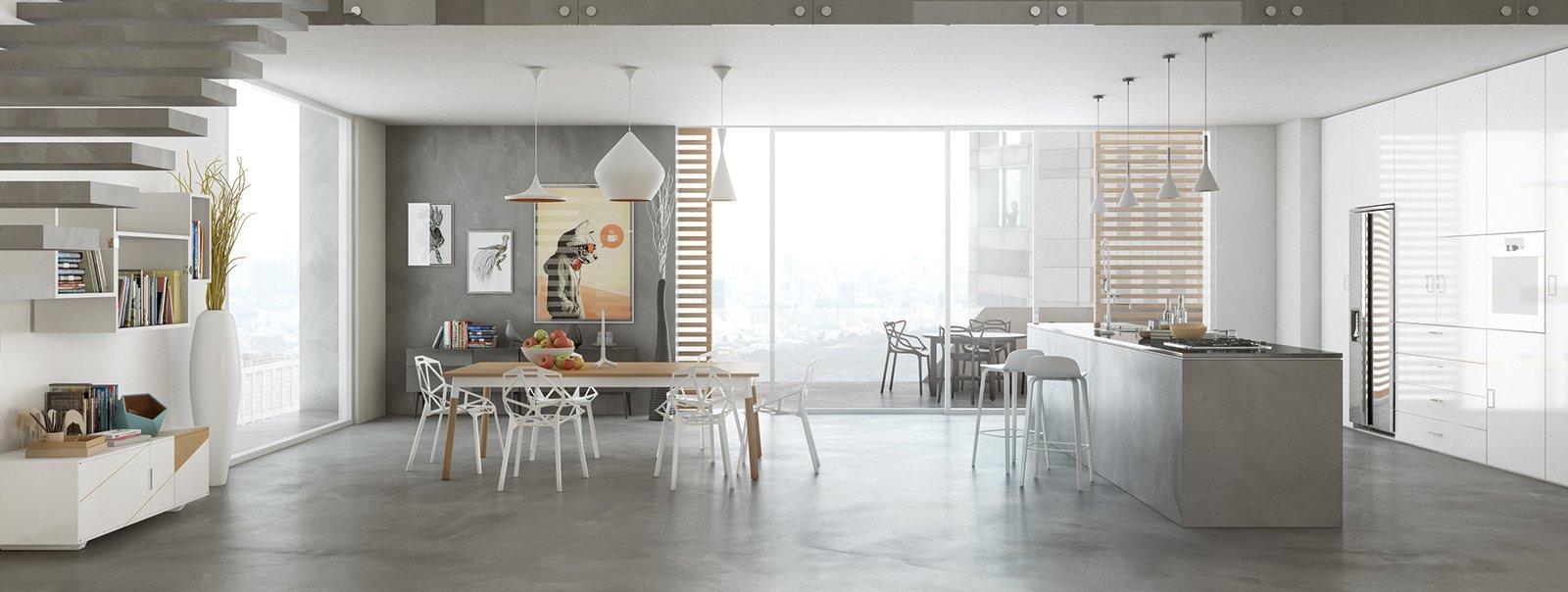 Resina rivestimenti per pavimenti pareti piani di for Piani di casa con cucina esterna e piscina