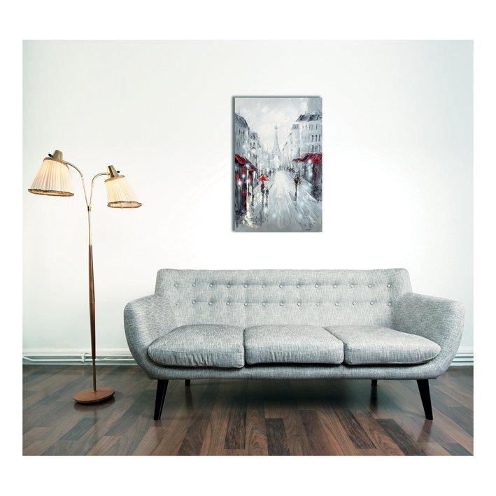 Come sistemare i quadri sulla parete cose di casa - Come disporre i quadri in sala ...