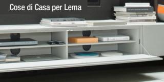 Funzionalità in primo piano: arredare con la qualità Lema