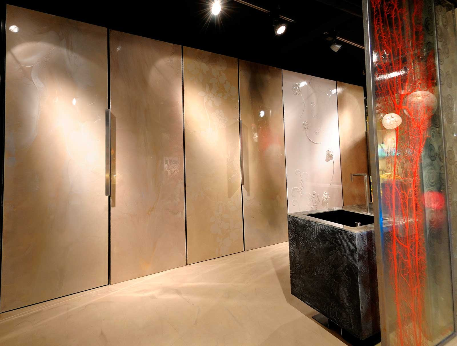 Resina rivestimenti per pavimenti pareti piani di for Piani di aggiunta della camera da letto principale