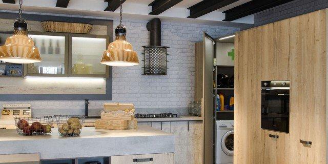 Armadiature a colonna per cucine trendy e funzionali