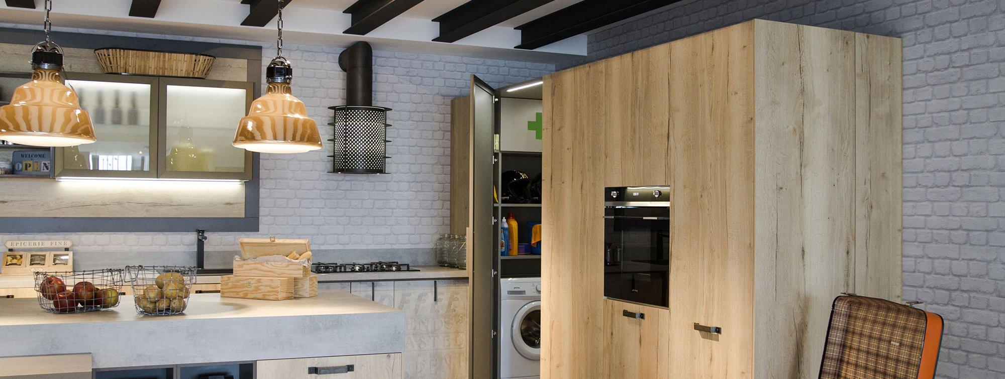 Armadiature a colonna per cucine trendy e funzionali cose di casa - Altezza parapetti finestre normativa ...