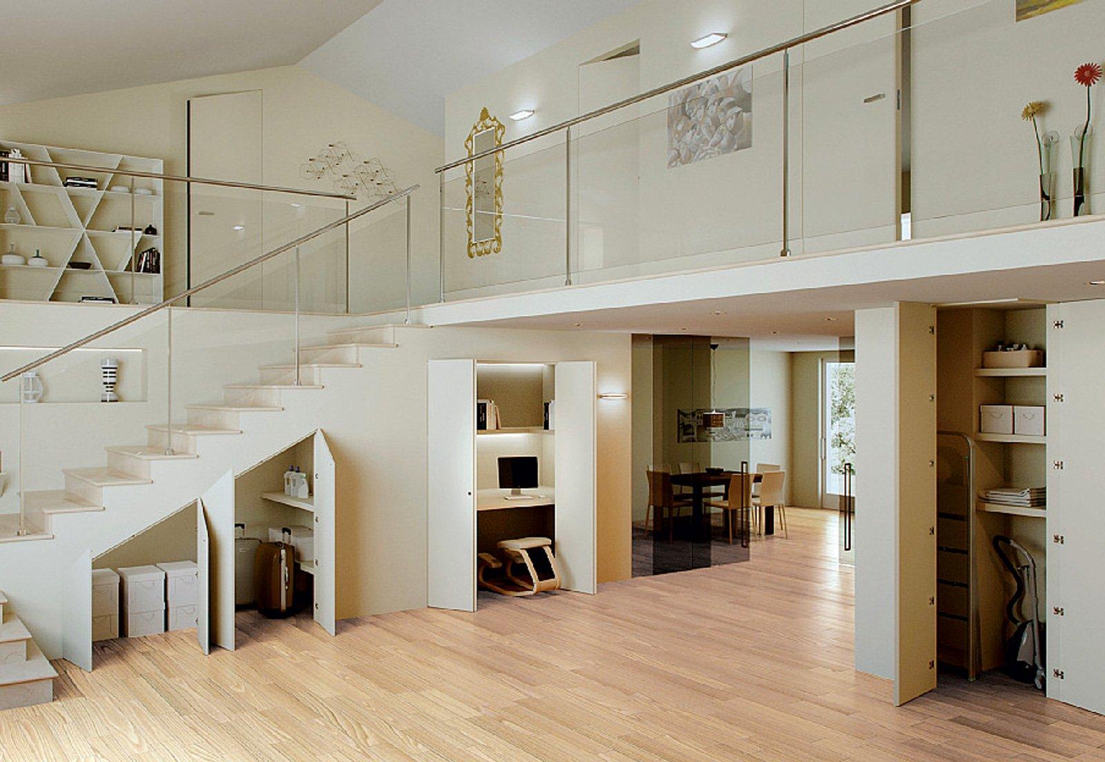Armadio sottoscala con soluzioni filomuro cose di casa for Soluzioni arredo casa