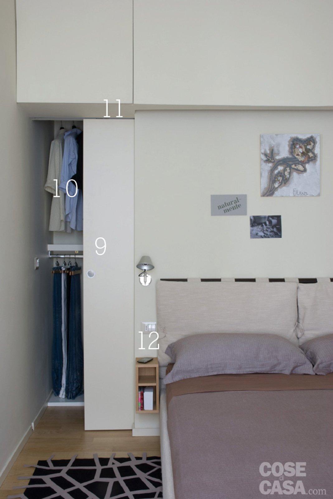 15 idee che risolvono per una casa di 44 mq, tutta da copiare ... - Ampio Armadio Allinterno Idee Progettuali