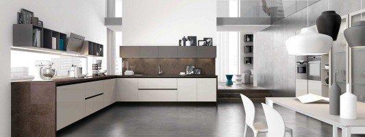 Cucine moderne arredamento cose di casa for Cucina tinello arredamento