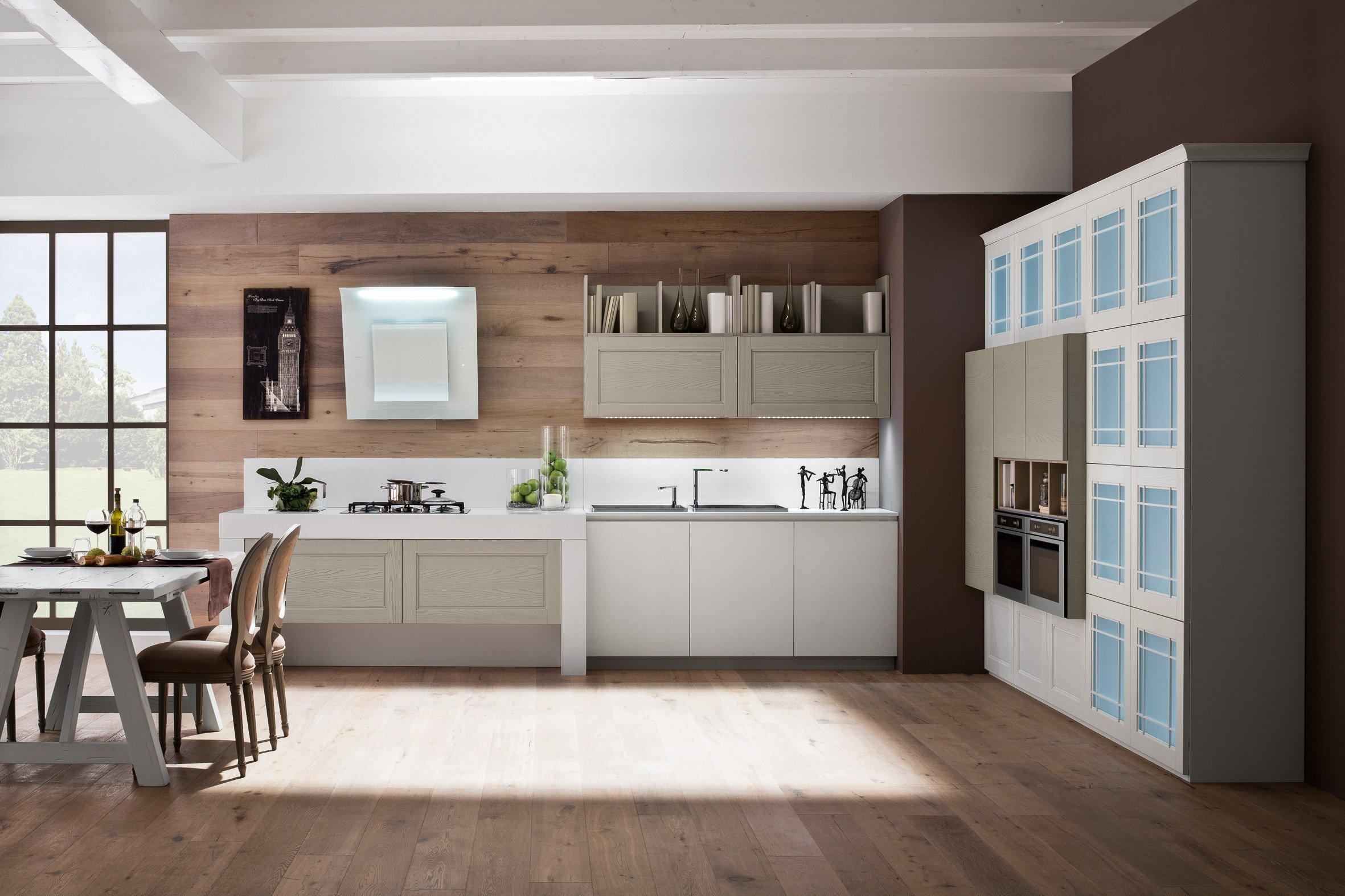 Come progettare una cucina con un effetto visivo articolato? - Cose ...