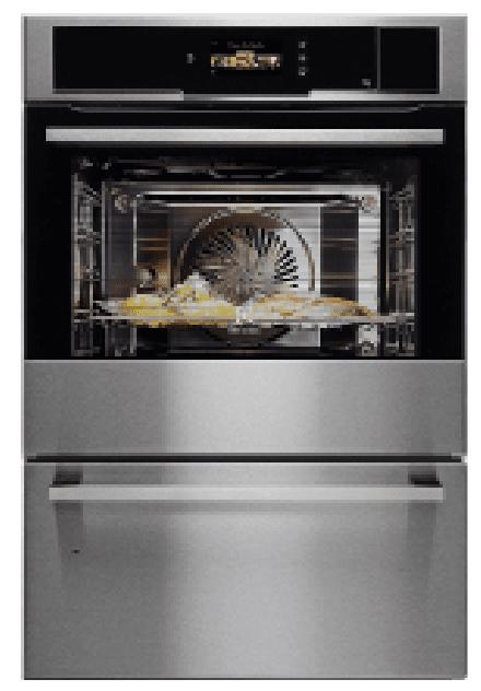 CombiSteam Pro Linea Quadro EOB 9956VAXdi Electrolux: il forno con ampia cavità internaè dotato di ventilazione UltraFanPlusche permette una circolazione uniforme dell'aria. È disponibile anche con tecnologia SousVide per cotturasottovuoto.