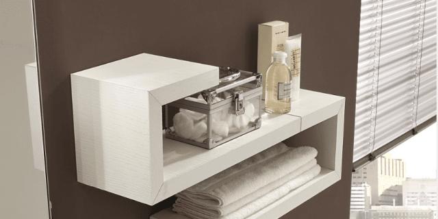 Mensole singole o in combinazioni d 39 effetto cose di casa for Portasalviette bagno design